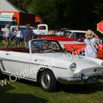 Renault Caravelle 1959–1968 im Schlossgarten zu Wolfegg
