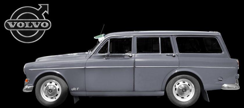Volvo Amazon Kombi Typ P221 (Februar 1962 bis Mai 1969)