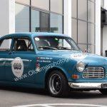 Volvo Amazon Rallye-Version auf der Oldtimermesse in Friedrichshafen
