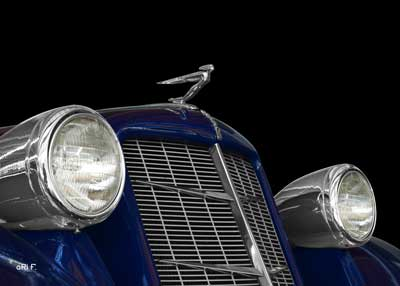 "1936 Auburn 852 Supercharged Speedster with Hood Ornament ""Winged Man"""