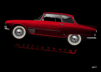 Auto Union 1000 SE millespecial in red edition