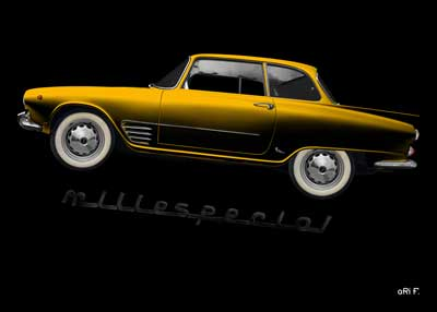 Auto Union 1000 SE millespecial yellow edition