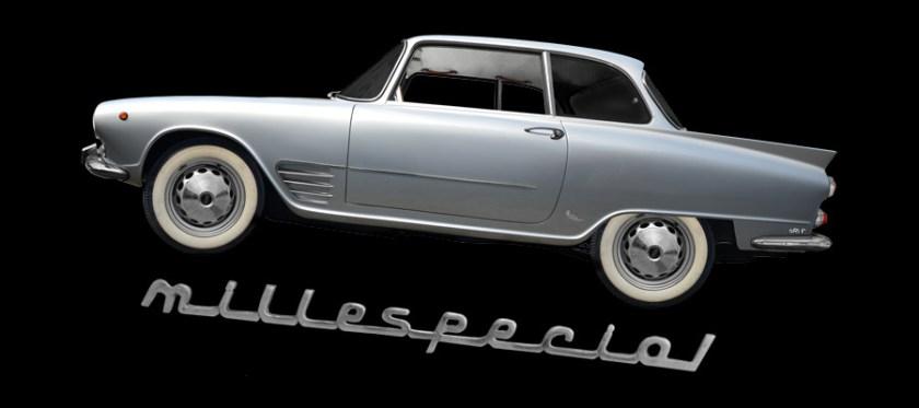 Auto Union 1000 SE millespecial von Carrozzeria Fissore in Savigliano/Turin