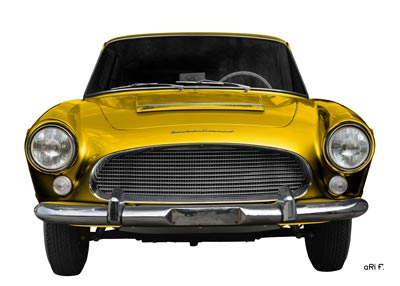 Auto Union 1000 SE millespecial in yellow