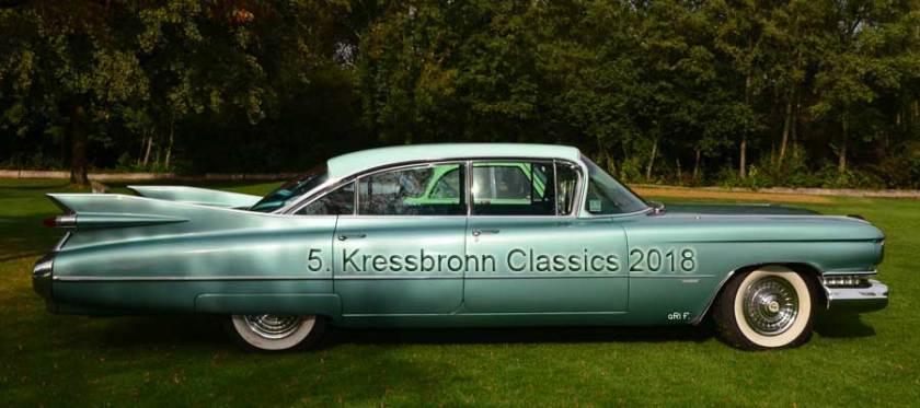 Cadillac Serie 62 bei der 5. Kressbronn Classics 2018