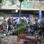 Biker im Gespräch bei der 5. Kressbronn Classics