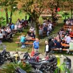 Biker Impressionen auf das Gelände der 5. Kressbronn Classics
