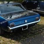 Ford Mustang GT 350 2. Generation Heckansicht