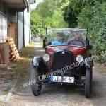 Dixie, das wohl kleinste Cabrio auf der 5. Kressbronn Classics 2018