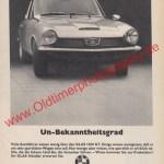 Glas 1300 GT Werbung von 1967