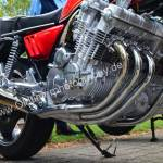 Honda CBX luftgekühlter 6-Zylinder mit 6 Keihin-Gleichdruck-Vergasern 1978-1982