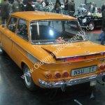 SU 1200 TT Heckansicht auf Oldtimermesse