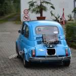 Fiat 500 mit Gepäckträger hinten