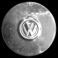 Logo VW Bus T3 auf Radkappe