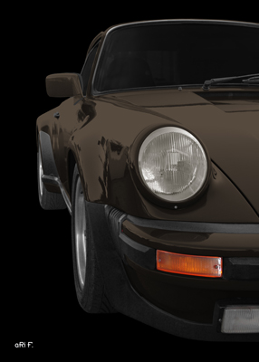 Poster Porsche 911 G-Modell Poster new created by aRi F.