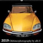 Citroen DS Oldtimerkalender-Titelblatt 2019