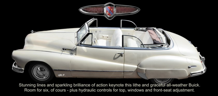 1947 Buick Super Convertible Model 56C