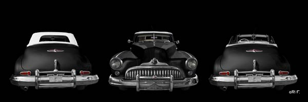 1947 Buick Super Convertible Model 56C in black
