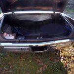 1970 Cadillac DeVille Convertible Detailansicht auf Kofferraum innen
