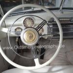 Buick Super Convertible weißer Lenker mit verchromten Hupenring