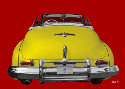1947 Buick Super Series 50 rear view open