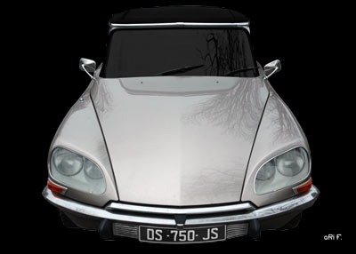 Citroen DS Pallas in Originalfarbe