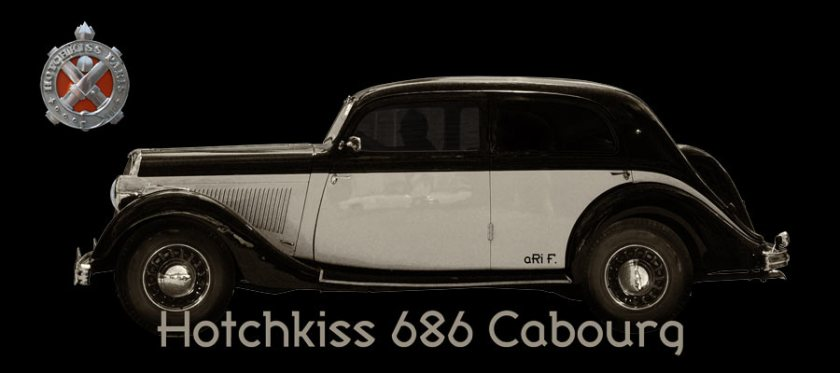 Hotchkiss 686 Cabourg Poster