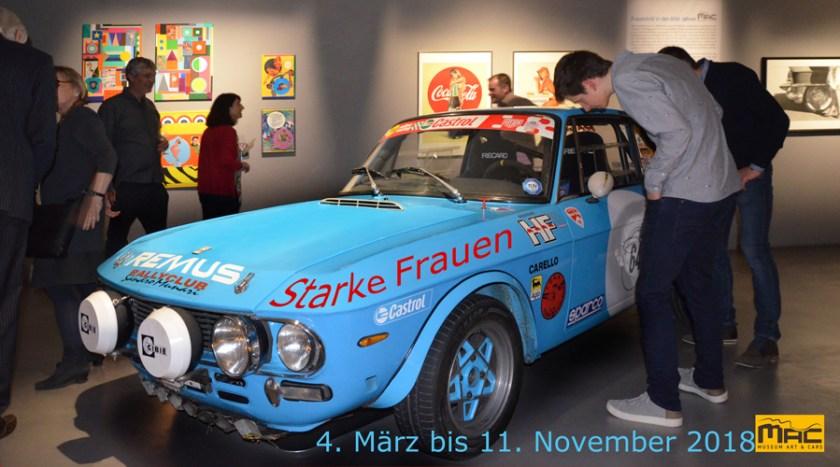 MAC Museum Art & Cars 2018 - Starke Frauen 4. März bis 11. November 2018