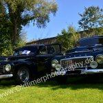Links Volvo PV 444, rechts Volvo PV 544