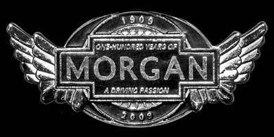 Logo 100 Jahre Morgan Company Motors 1909-2009