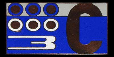 Logo Lancia Flaminia GT 2800 3C