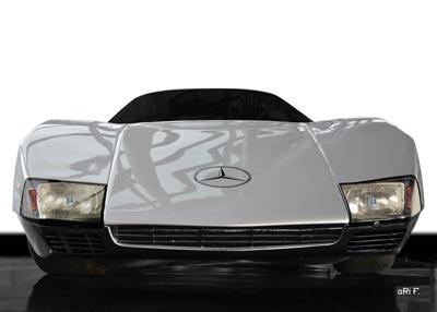 Poster Mercedes-Benz C 111 Version 3 in Originalfarbe