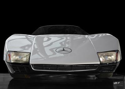 Mercedes-Benz C 111/III Poster front view in original color