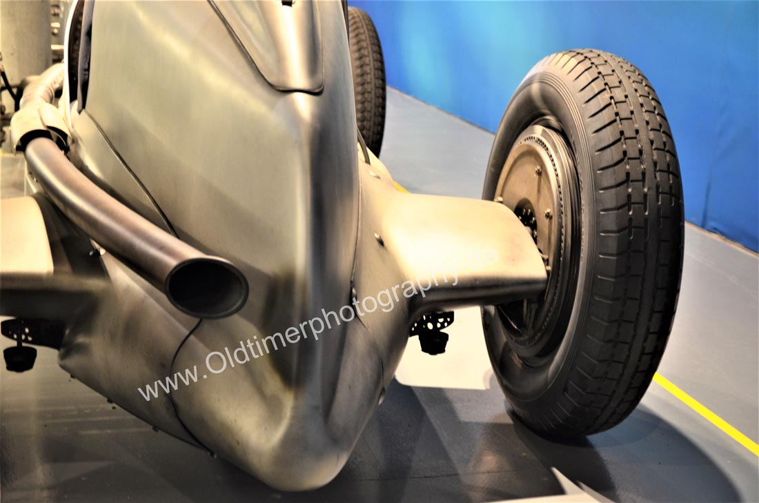 Mercedes-Benz W 25 Silberpfeil Heckdetail / rear view