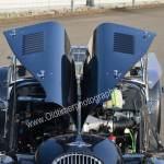 Morgan Plus 8 Detailansicht auf geöffneter Motorhaube
