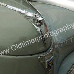 Peugeot 203 Motorhaube Detailansicht auf Kühlerfigur