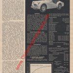 Triumph TR3 Test und technische Daten aus AMS Heft 14-1956 Seite 17