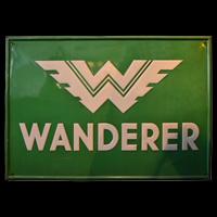 Emailleschild Wanderer Automobile ca. 30er - 40er Jahre