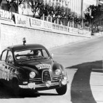 Erik Carlsson & Saab 96 Quelle: Ampnet photo