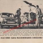 Goggomobil Werbung aus 1956