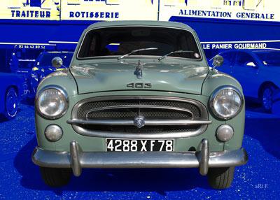 Peugeot 403 in Originalfarbe