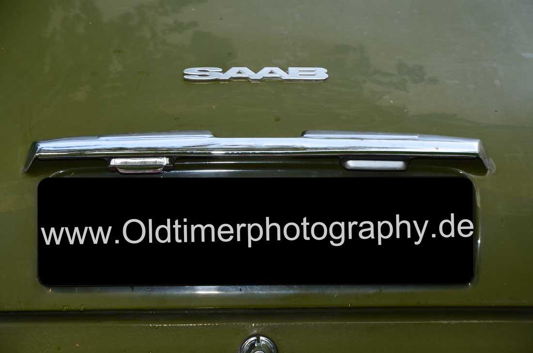SAAB 96 Kofferraumdeckel Details