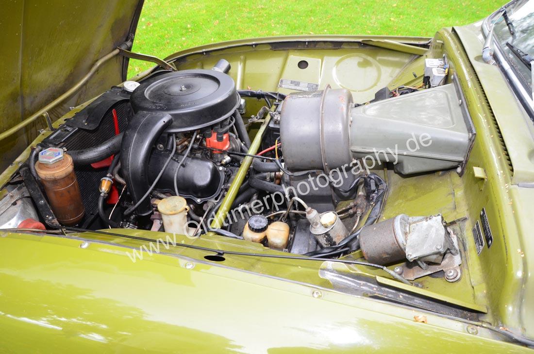 Saab 96 Motorraum
