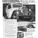 Singer Bantam Advertising 1936 The Auto Car Quelle: Grace 's Guide