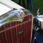 Singer Bantam Saloon ab 1937 mit Kühlerfigur 9hp bis 1937 ein fliegendes Bantam-Huhn das verboten wurde
