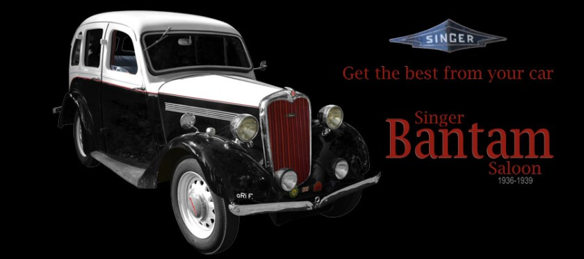 Singer Bantam Saloon 1936-1939 for sale