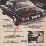 Audi 100 - Advert Werbung 1970er Jahre