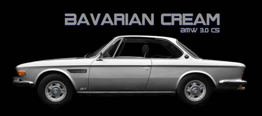 BMW 3.0 Typ E9 Bavarian Cream advert