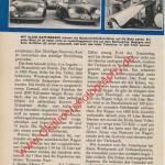 Benzin-Verbrauchswettbwerb in 50er Jahren mit Porsche 356 A in hobby Seite 73