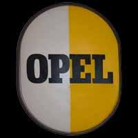 Opel Leuchtreklame aus den 50er Jahren